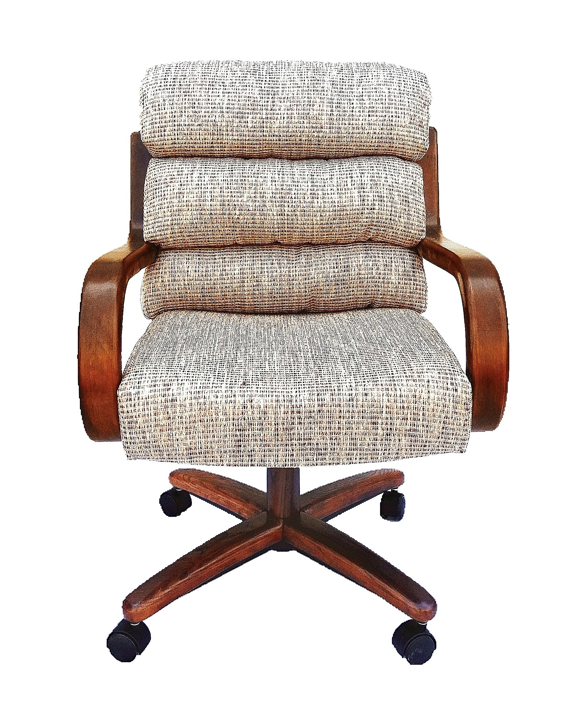 Chromcraft Furniture C137 936 Swivel Tilt Caster Dinette