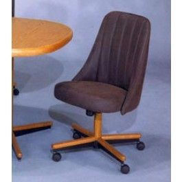 Chromcraft C51 936 Swivel Tilt Caster Chair Discount Dinettes