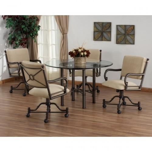 Dinette Sets Cheap: Dining Sets & Dinettes: Bullseye Burnet Swivel Tilt Caster